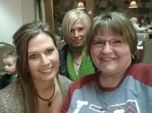 My sisters, Amy & Karen