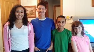 Kiesha, Jay, Logan & Ally