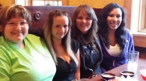 Housley Girls Night Out - me, Savannah, Taba & Kiesha (Kiesha's first GNO)
