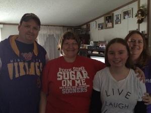 Shane, me, Skylar & Laurita