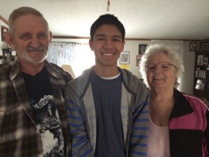 Grandpa Bob, Jay & Grandma Barb